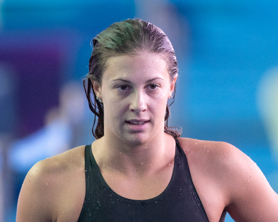 Arianna Castiglione Takes 4 Point Penalty with No-Show in Women's 200 Breast
