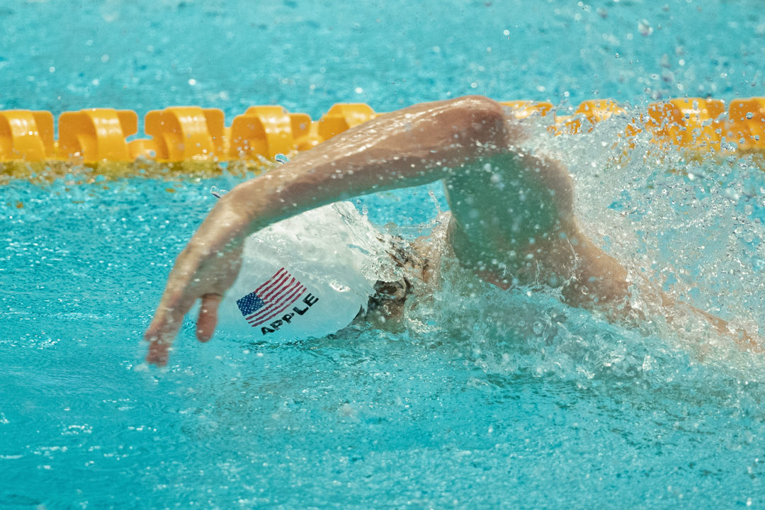 Indy Sectionals: Zach Apple Posts Season-Best 48.89 100 Free