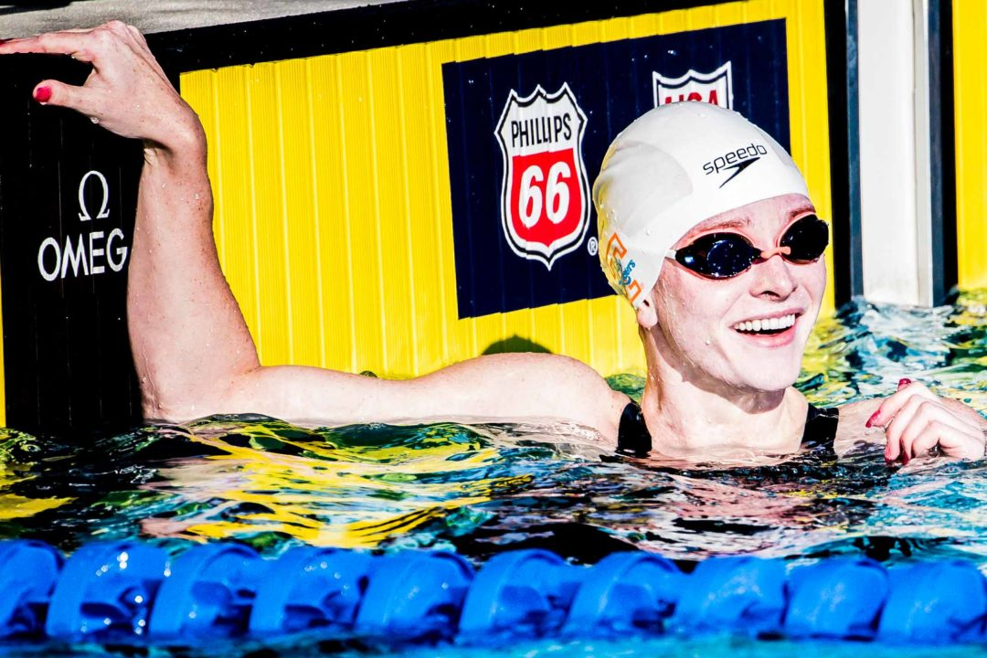 Erika Brown Posts Lifetime Best 24.5 to Win 50 Free at PSS Knoxville