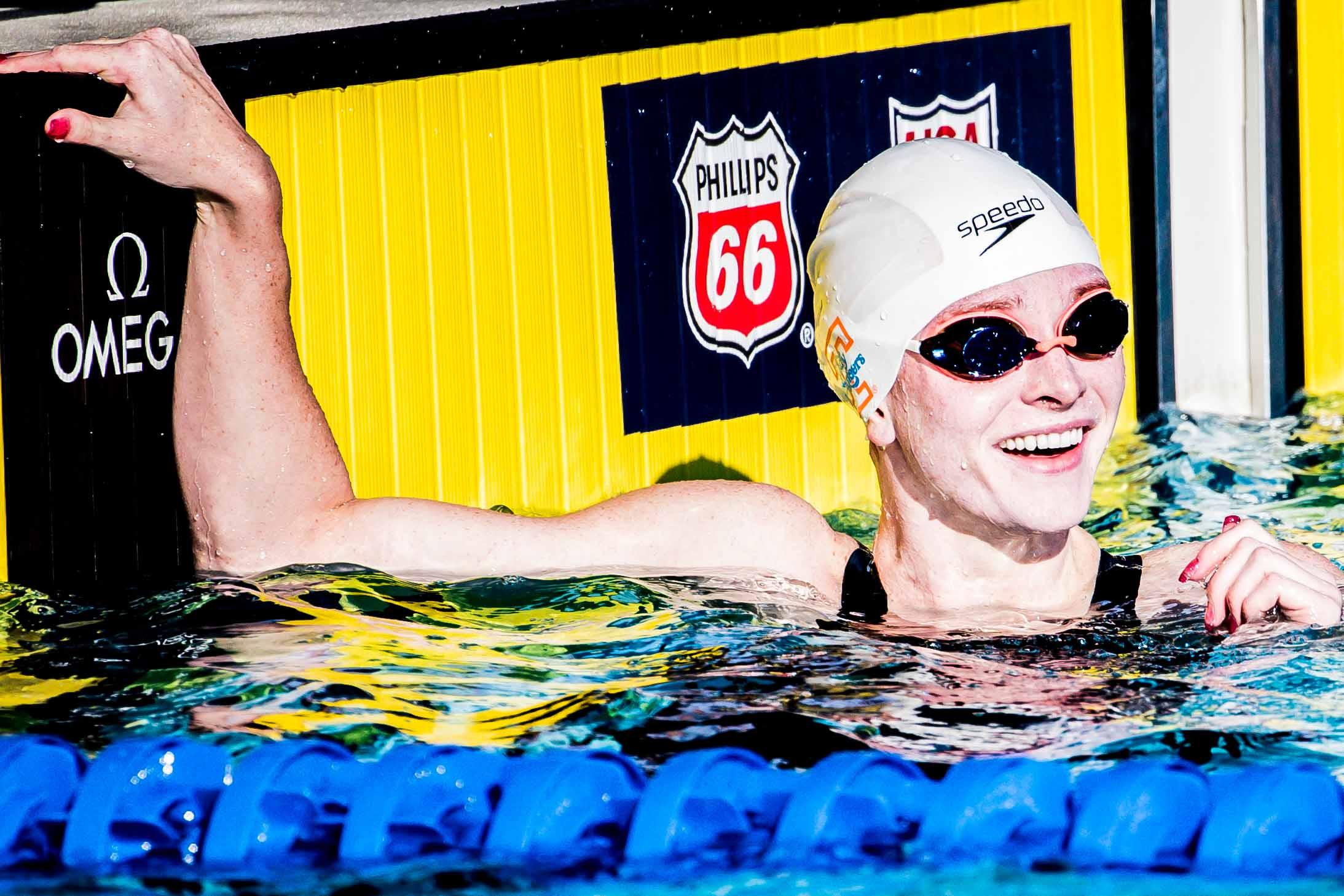Erika Brown Swims 500 Free, 100 Breast as Tennessee Women Blank Vanderbilt
