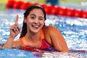 2019 Swammy Awards: S. American Female Swimmer of the Year Delfina Pignatiello