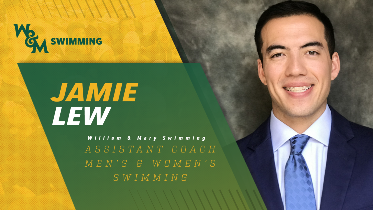 Jamie Lew Tabbed as Assistant Coach at William & Mary