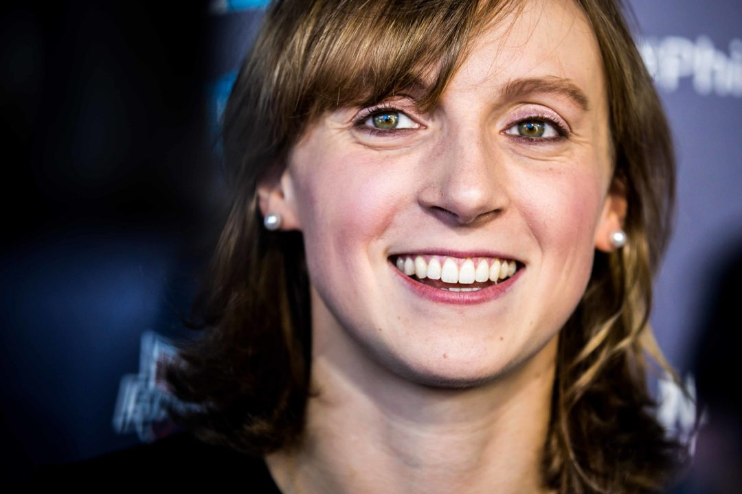 Ledecky 0.14 Short Of 400 Free SC World Record at ISL