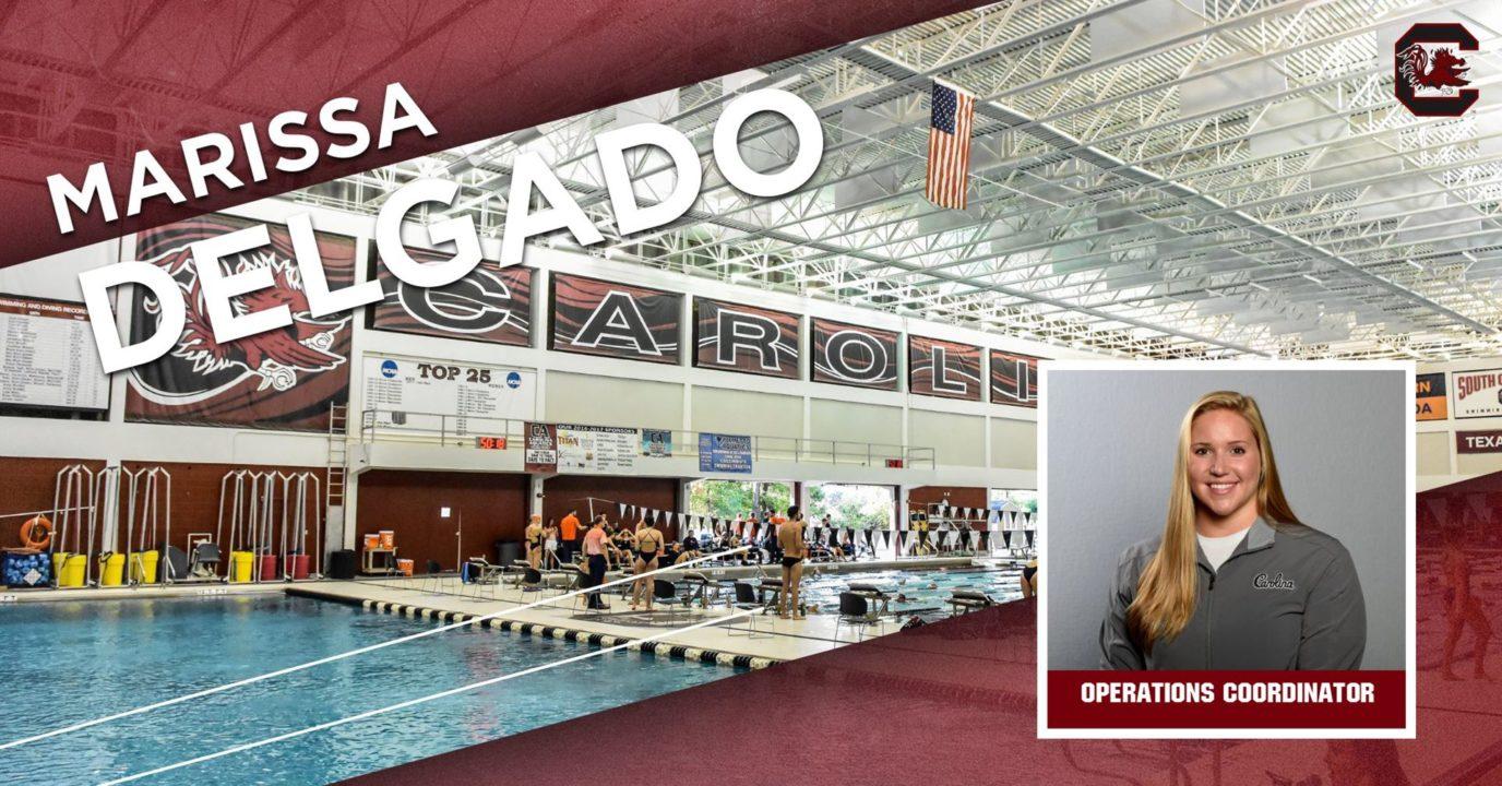 Alumna Marissa DelGado Joins South Carolina Staff as Operations Coordinator