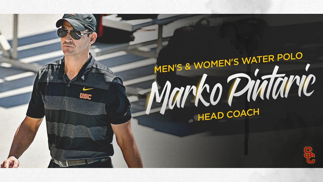 USC Removes Interim Tag, Names Marko Pintaric Head Water Polo Coach