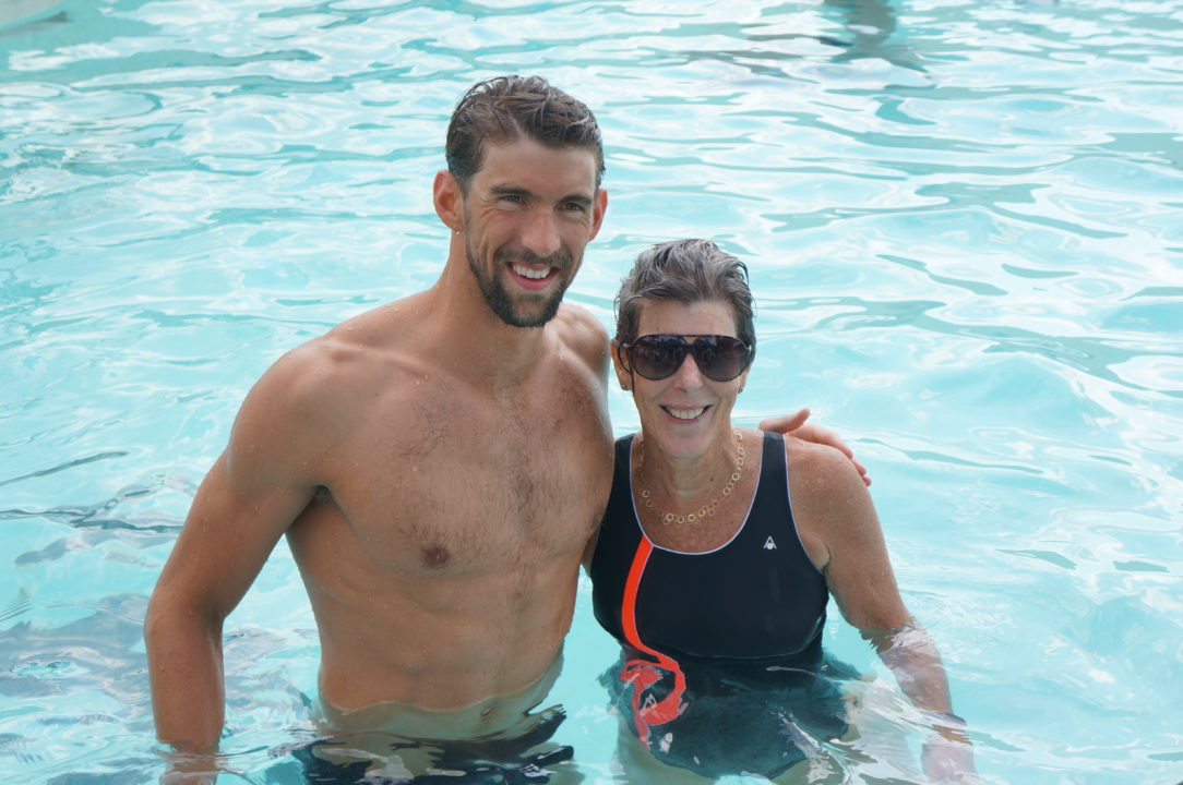 Michael Phelps Gets Back in the Water to Benefit Cancer Research