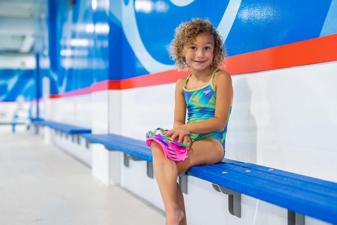 Big Blue Swim School Shows Kids They Can Do Anything