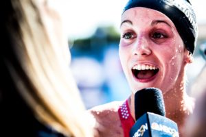 Regan Smith Likens Swimming Against a Loaded Field to Swimming a Relay (Video)