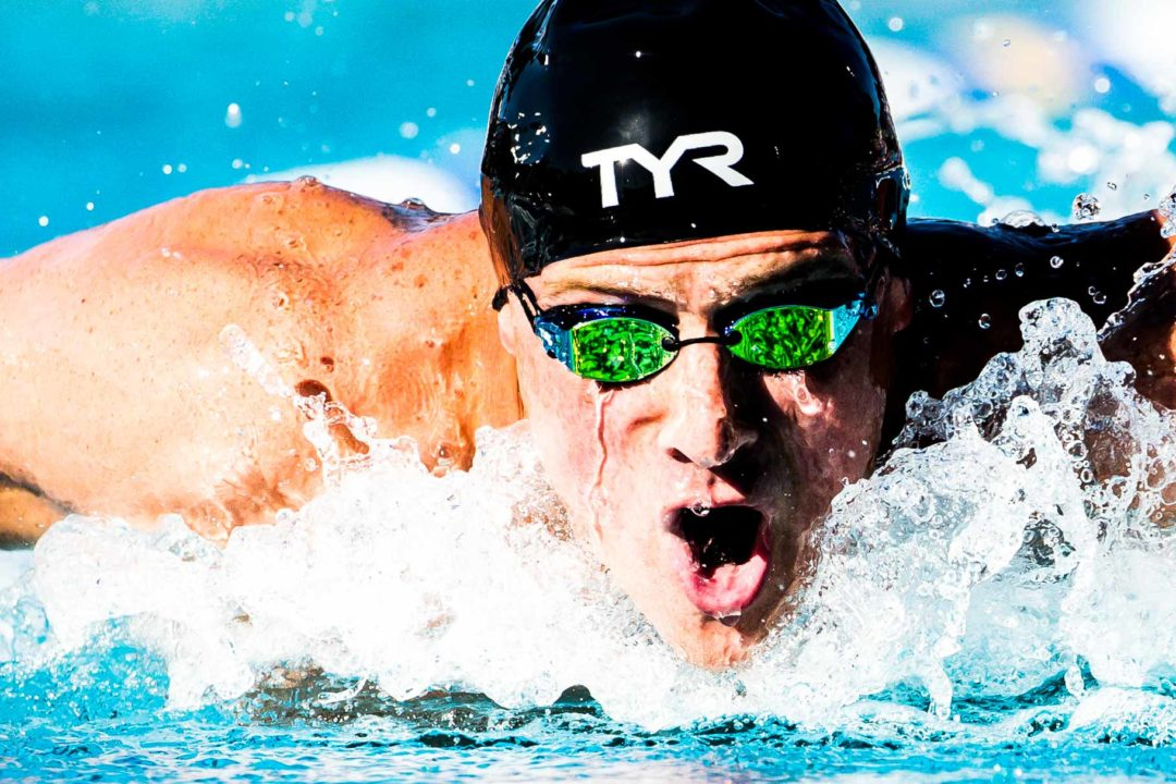 Ella Eastin, Luca Urlando, Ryan Lochte Scratch A Finals on Saturday at PSS