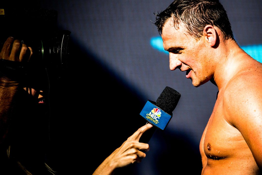 "Ryan Lochte to Appear on CNBC Show ""In the Game"" on Wednesday"