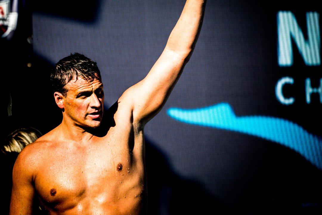 Olympic Champion Ryan Lochte Kicks 50m Underwater in 23.37 in Practice