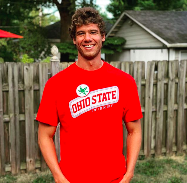 Cameron Craig Swims 21.47 Flat-Start 50 Fly in Ohio State Intrasquad