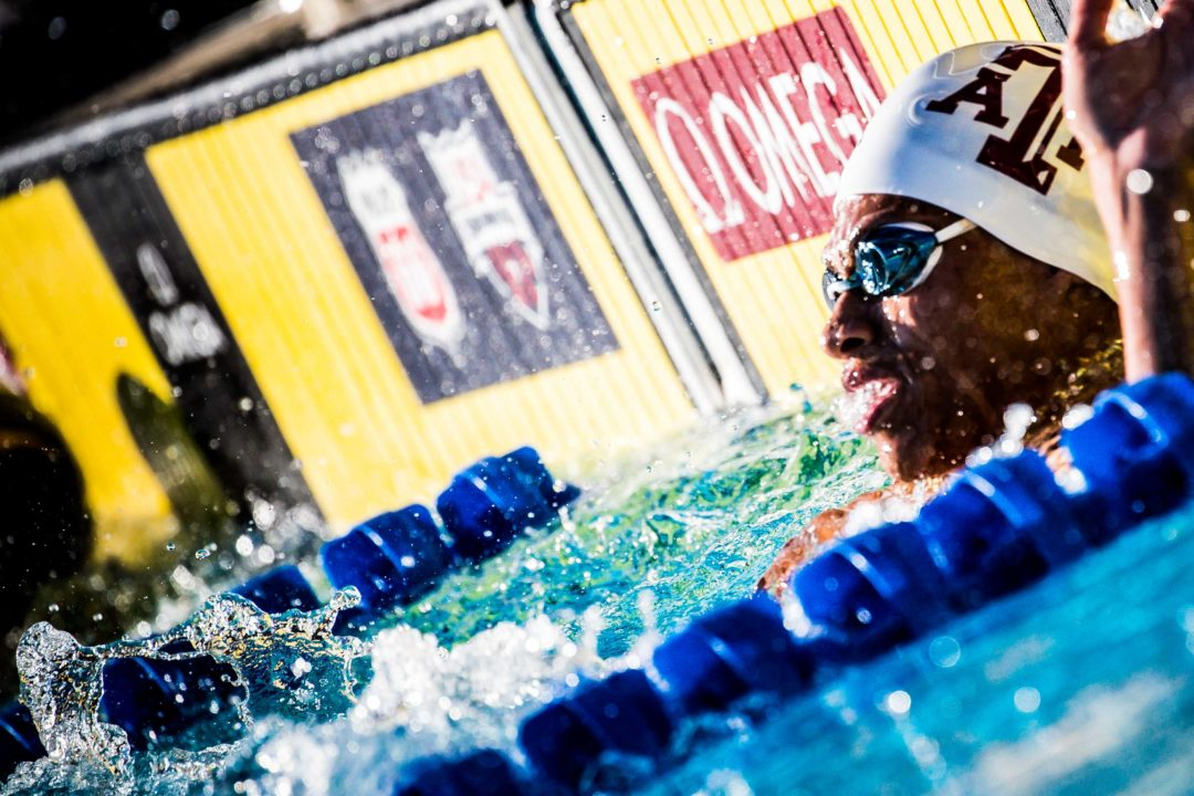 Shaine Casas Clocks 41.68 100 Free at American Short Course Champs Day 2