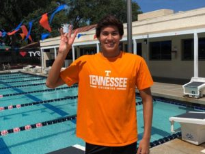 Bolles Distance Freestyler Rafael Ponce de León Verbally Commits to Tennessee