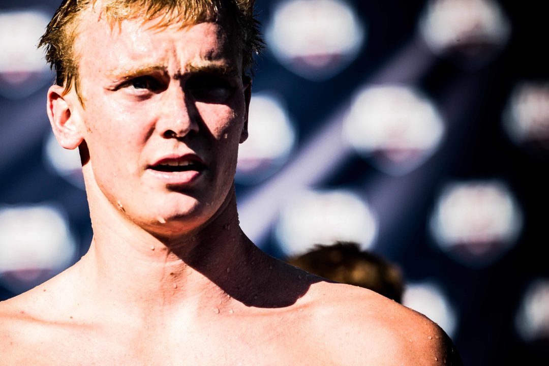 Trenton Julian Will Swim 200 Free over 400 IM Tuesday at Pac-12s (HEAT SHEETS)