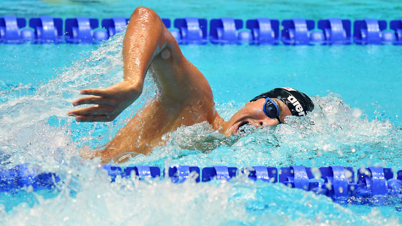 De Tullio Enters New 200 Free Territory As Italy's 4th Fastest Performer