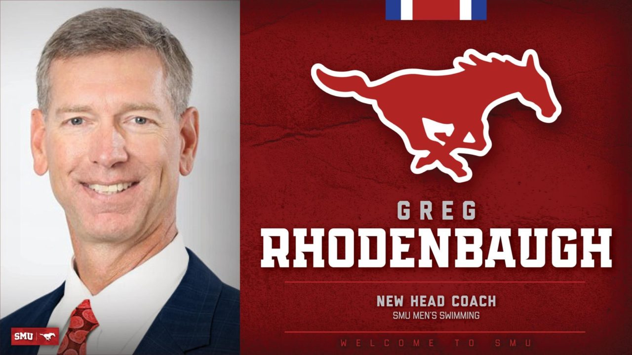 Greg Rhodenbaugh to Return to SMU as Head Men's Coach