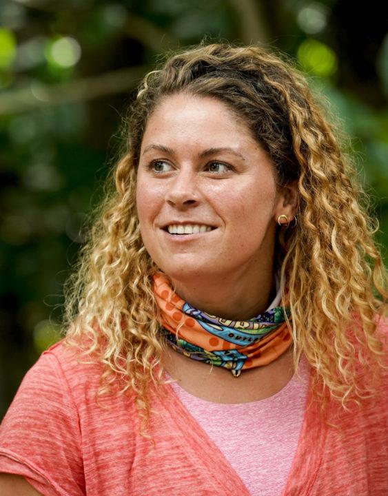 Elizabeth Beisel on Survivor, Episode 1: An Early Big Gamble