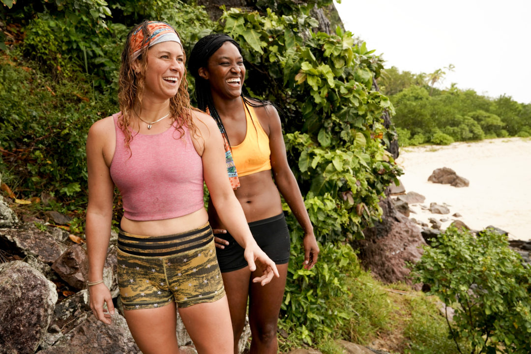 Elizabeth Beisel on Survivor, Episode 2: Finally A Water Challenge