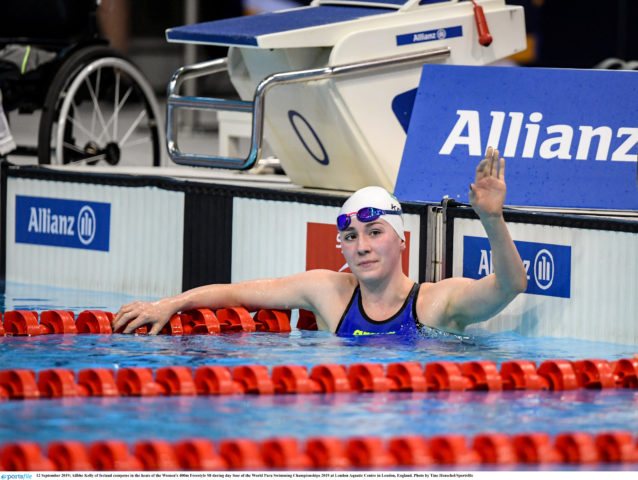 20-Year Old Para-Swimmer Ailbhe Kelly Announces Retirement