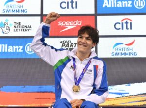 Campionati Europei Nuoto Paralimpico Antonio Fantin Record Del Mondo
