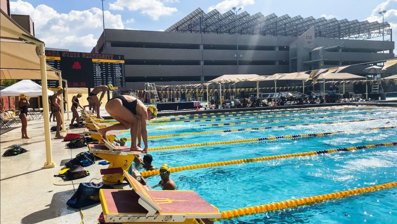 Maroon Edges Gold in Annual Arizona State Intrasquad Meet