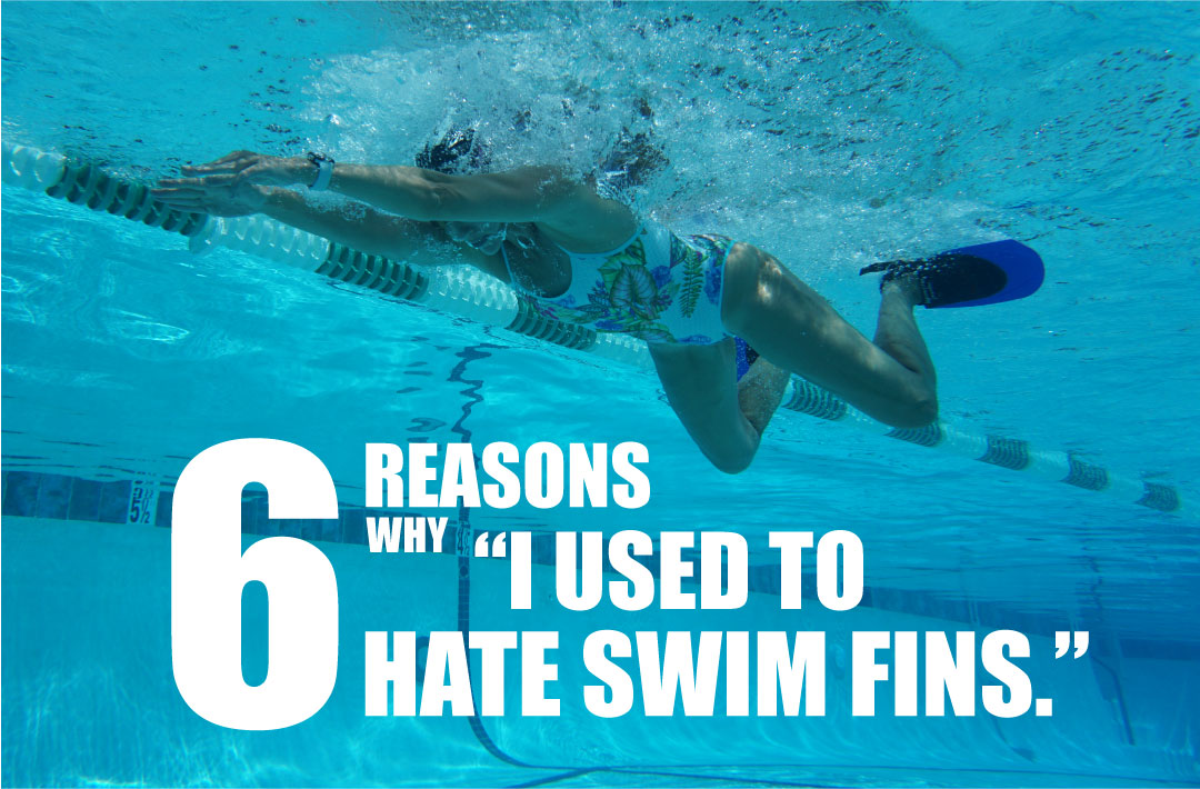 6 Reasons Why I Used to Hate Swim Fins with Olympic Breaststroker Kristy Kowal