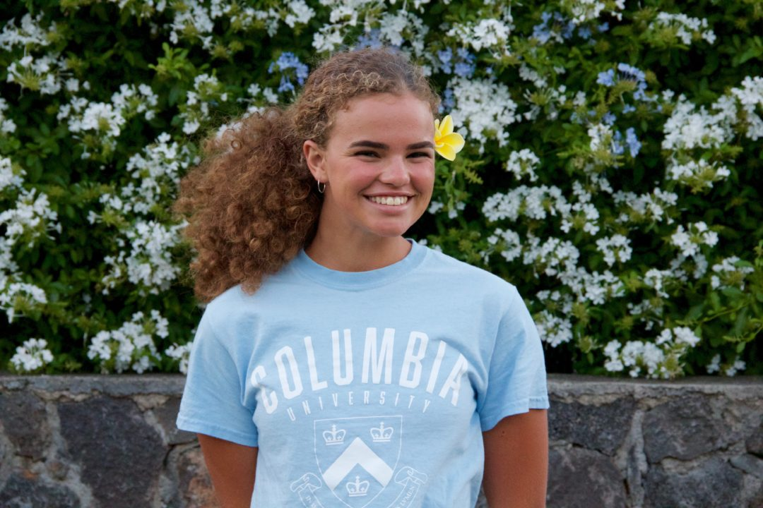 Hawaii State Champion Ana Eyre Announces Verbal Commitment to Columbia