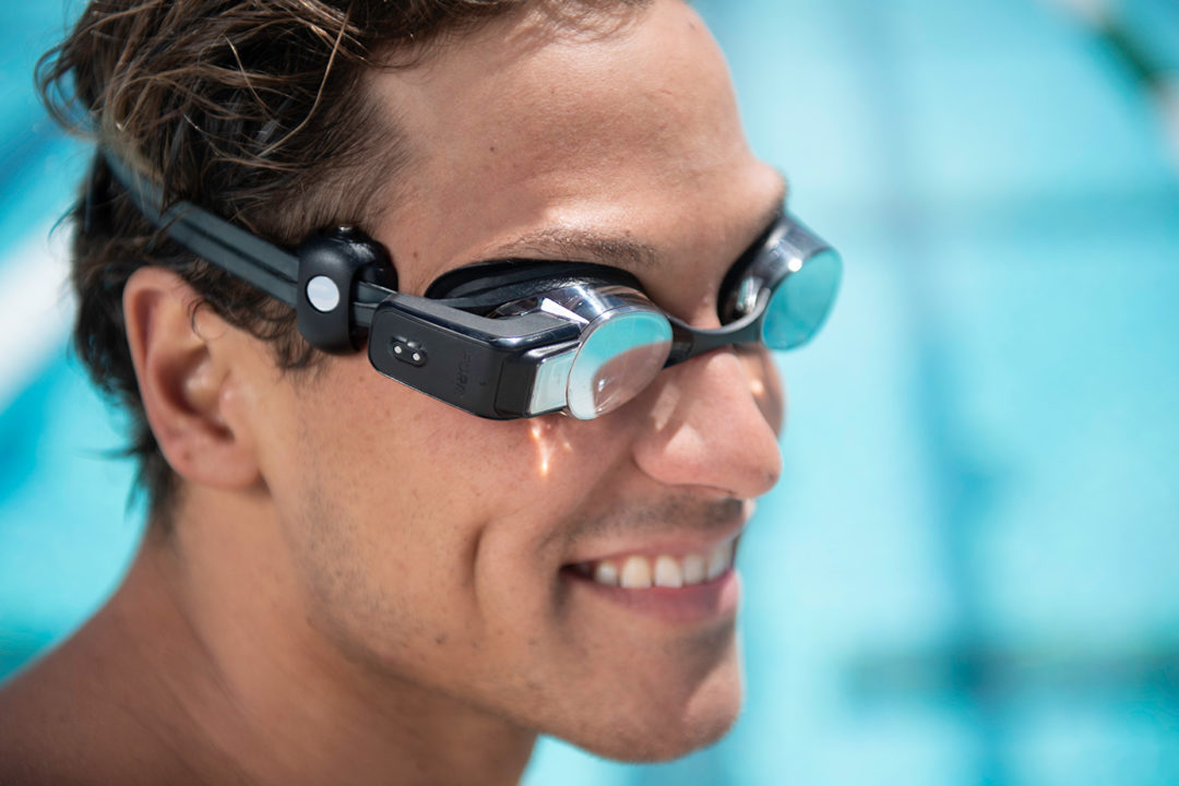 FORM Smart Goggles Announce Heart Rate Monitor Feature at ASCA (Video)