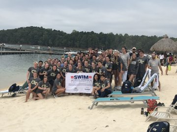 Georgia Tech Raises Nearly $8,500 at Swim Across America Atlanta