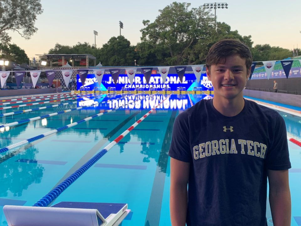 2020 Olympic Trials Qualifier Nathan Hayes Verbally Commits to Georgia Tech