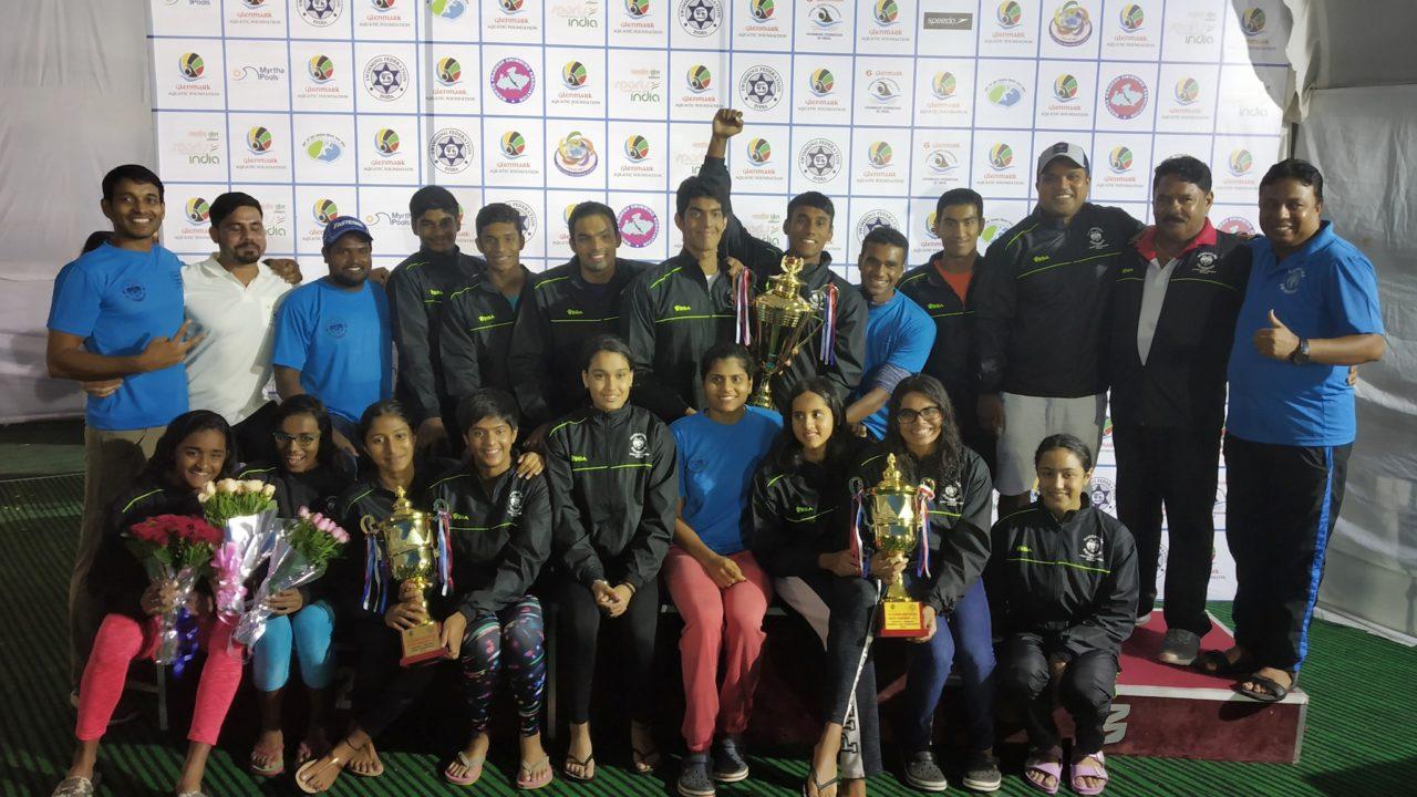 Karnataka Wins 27th Title at Glenmark Senior National Aquatic Championships