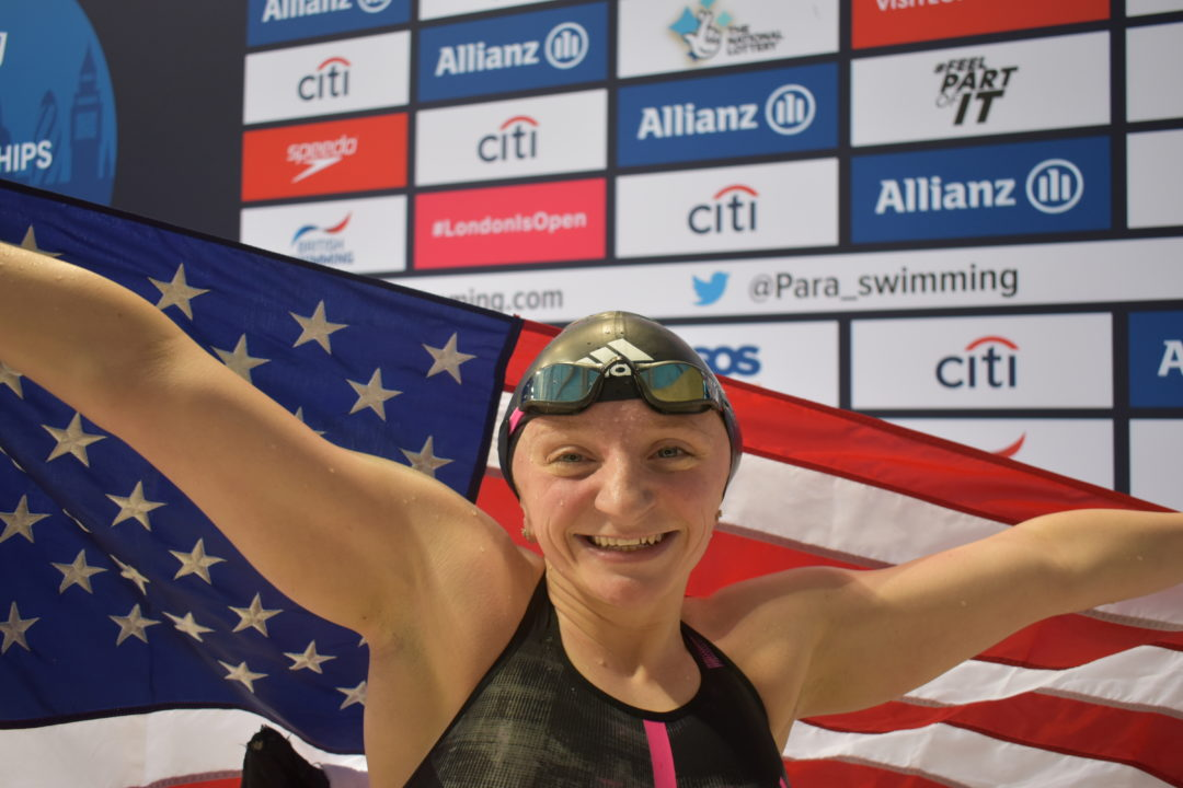 McKenzie Coan on S7 400 Free World Title: 'It Means Everything to Me' (VIDEO)