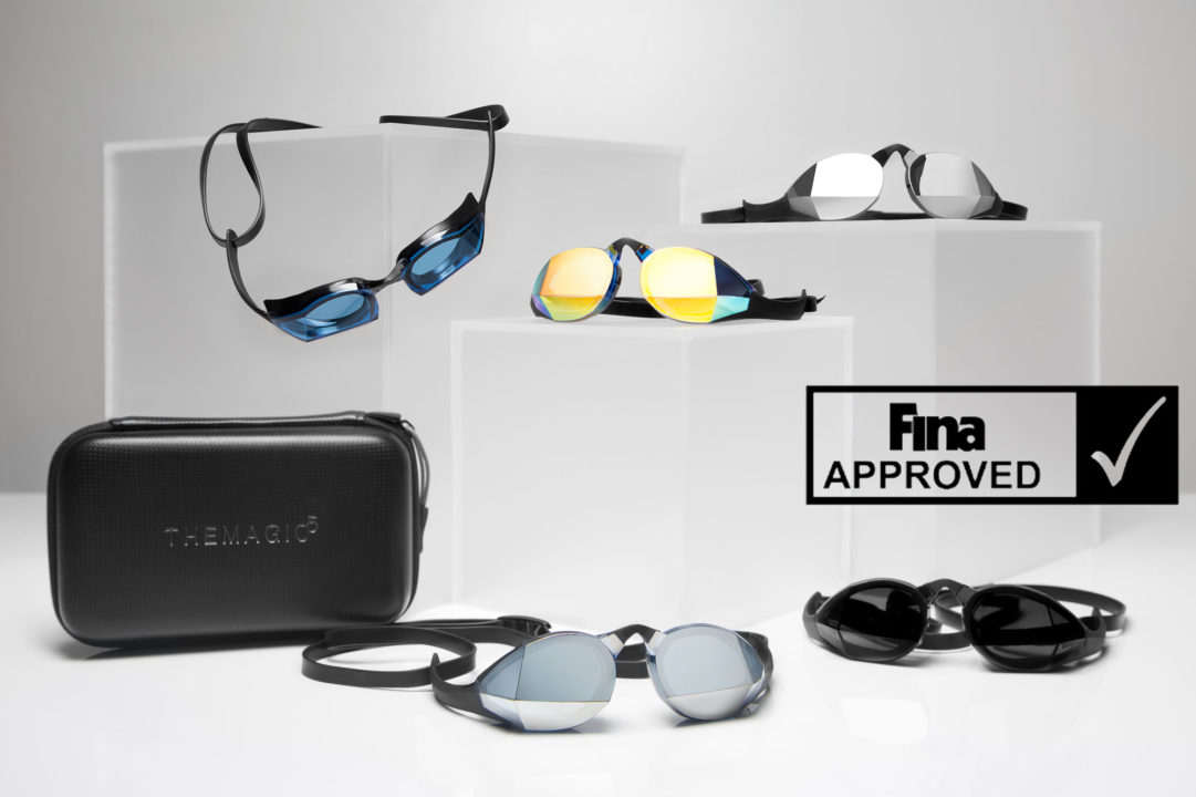 FINA Approves THEMAGIC5' Custom-Fit Goggles For All Competitions