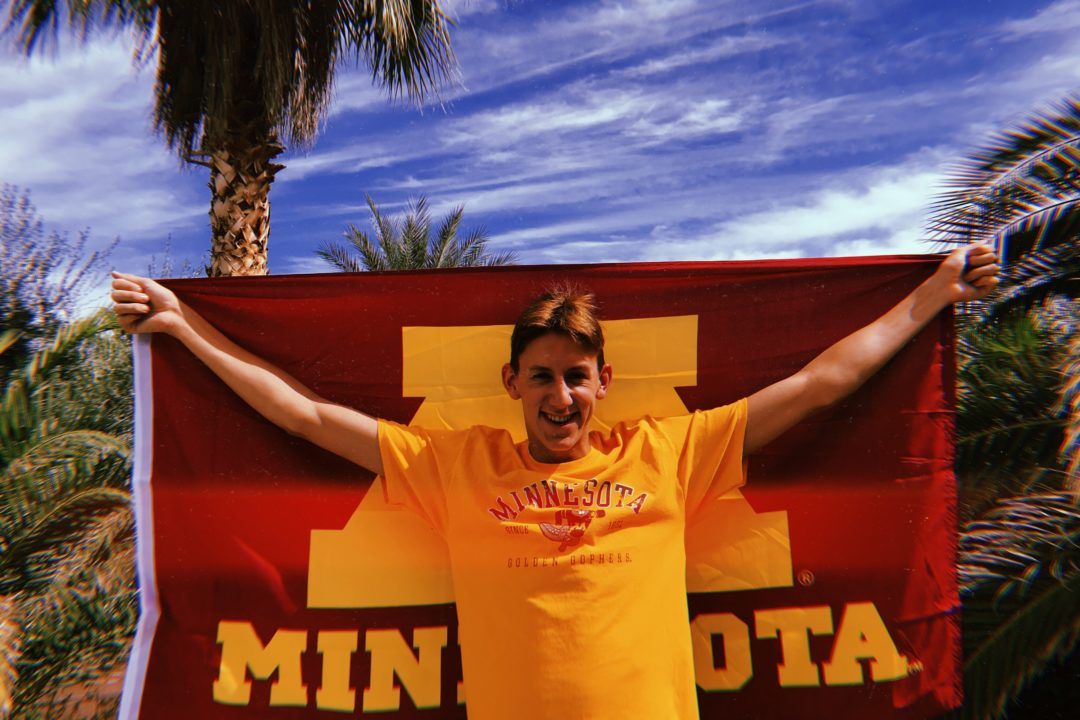 Olympic Trials Qualifier Sawyer Grimes of SAND Verbally Commits to Minnesota