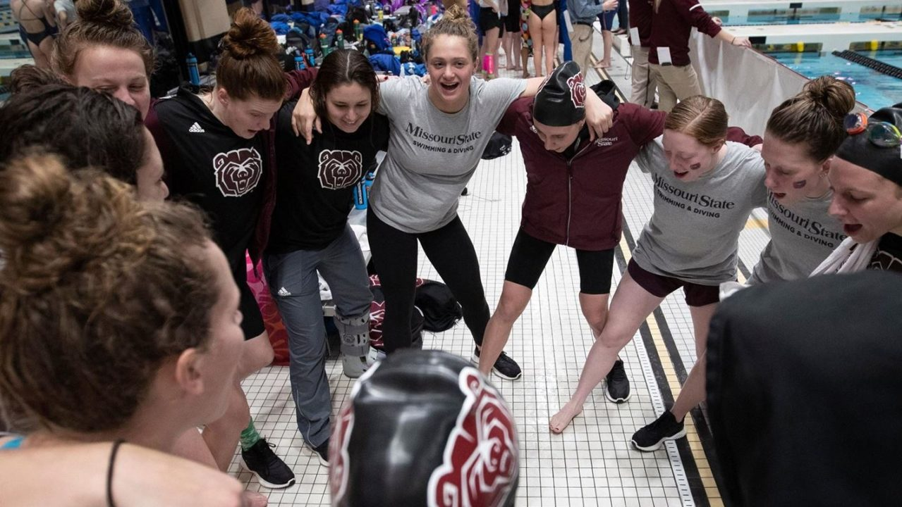 Missouri State Leads Missouri Valley Champs After First Day of Competition