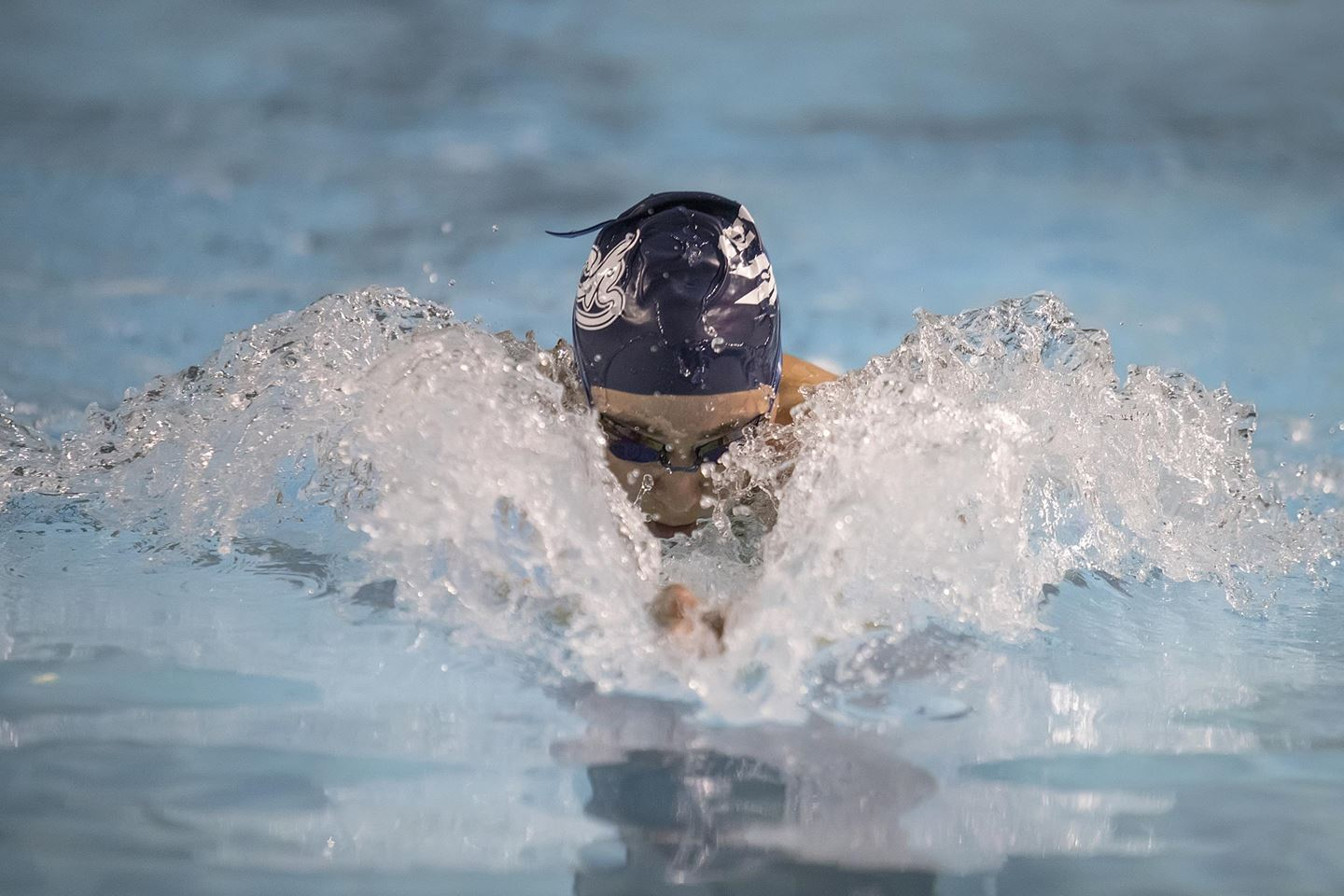 Nevada Goes 1-2-3 in Both Breast Events in Mountain West Dual Meet with UNLV