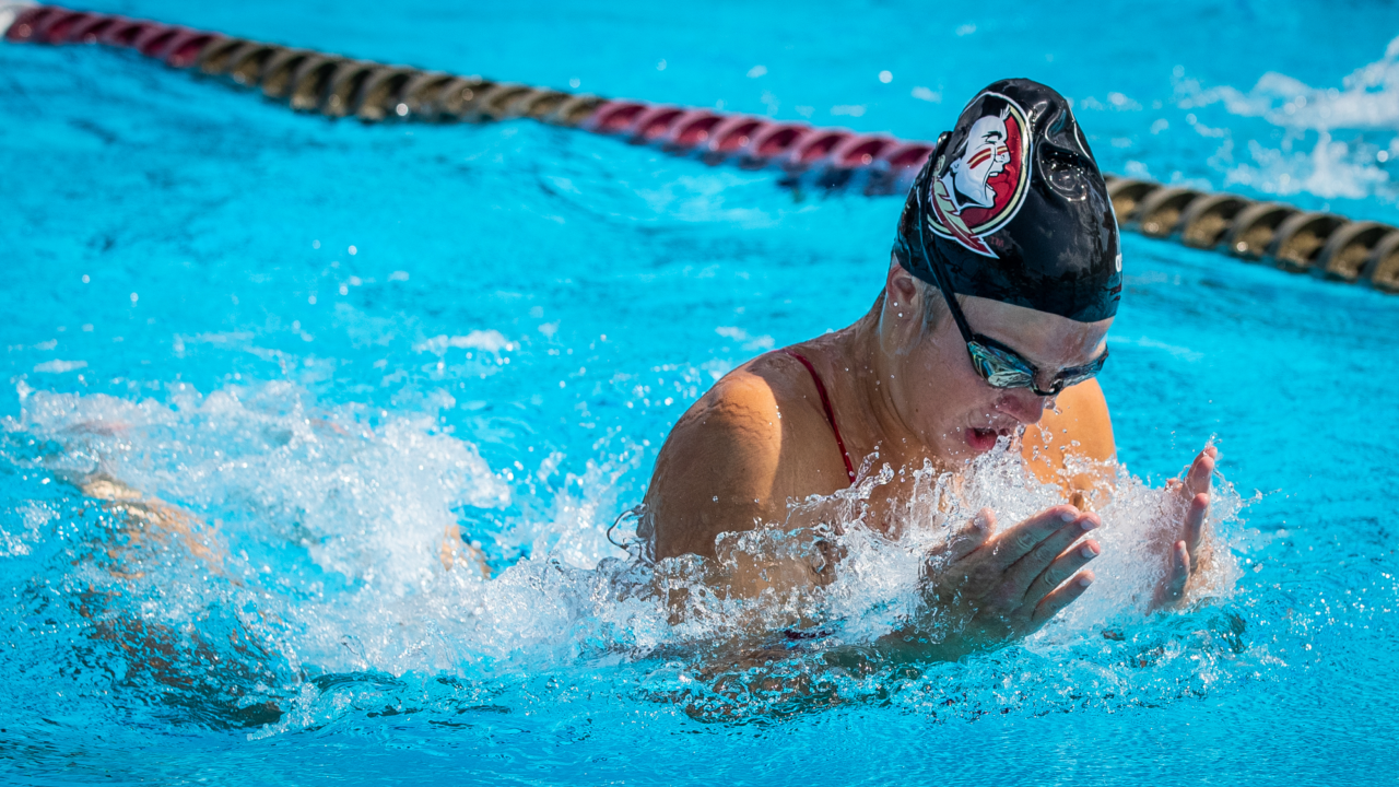 Gold Bests Garnet at Florida State's Season-Opening Event