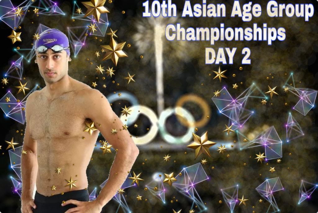 10th Asian Age Group Swimming Championships 2019: Day 2 Par India Ko 10 Medals