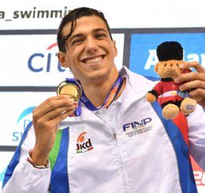 Mondiali Nuoto Paralimpico Simone Barlaam oro e WR