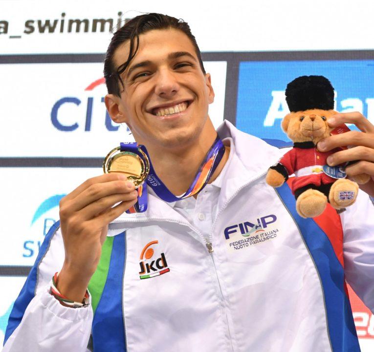 Mondiali Nuoto Paralimpico: Barlaam Record Del Mondo-Otto Medaglie Nel Day1