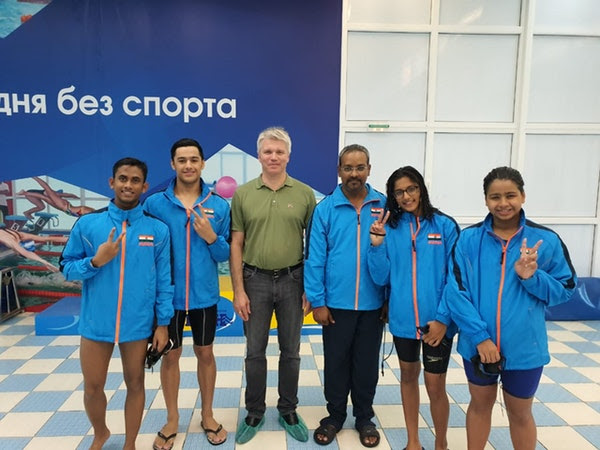 Indian Swimmers Win 14 Medals at Asian Pacific Youth Games