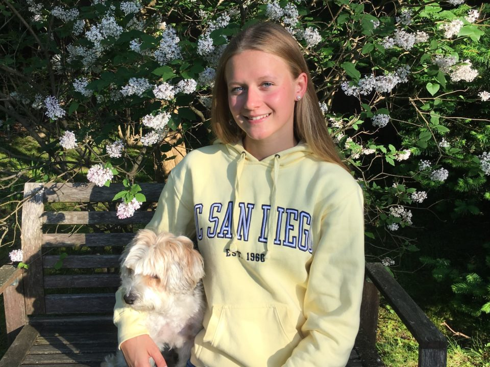 Euro Juniors Open Water Qualifier Yara Hierath of Germany Commits to UCSD