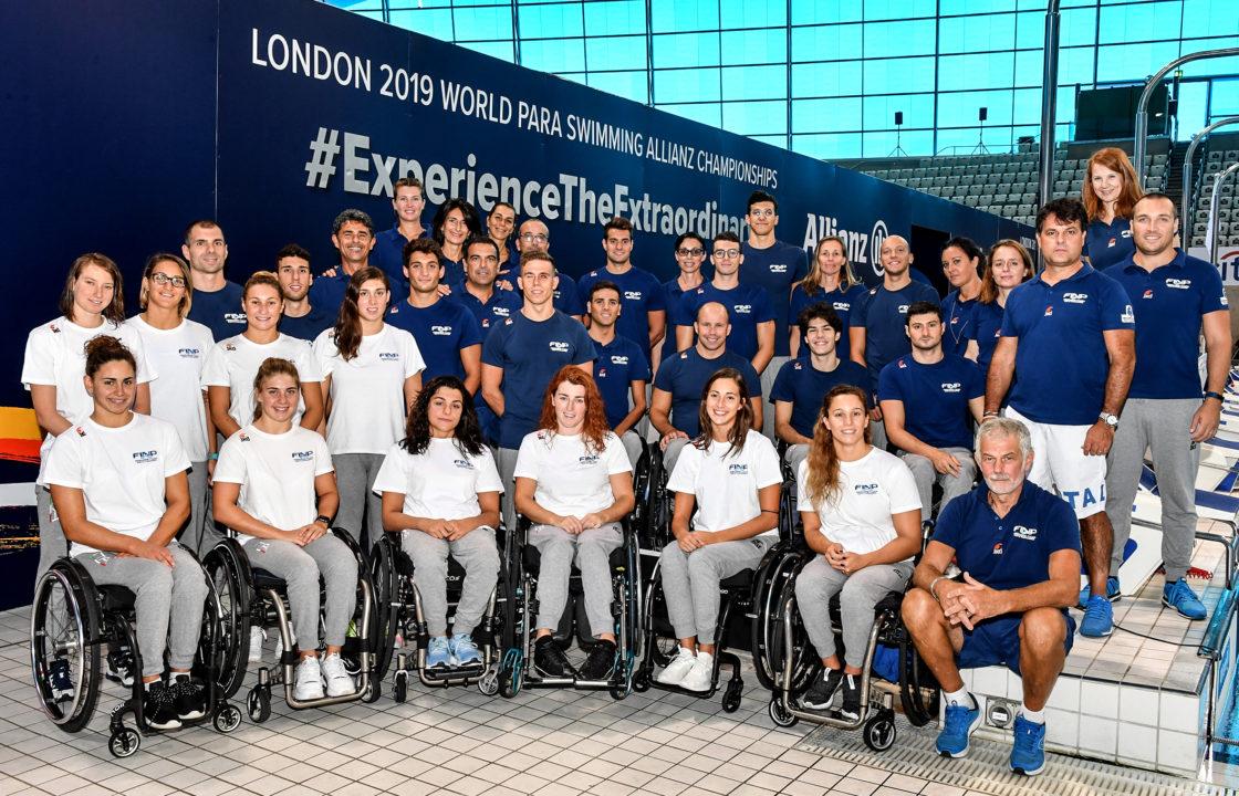 Mattarella Riceve La Nazionale Di Nuoto Paralimpico Campione Del Mondo
