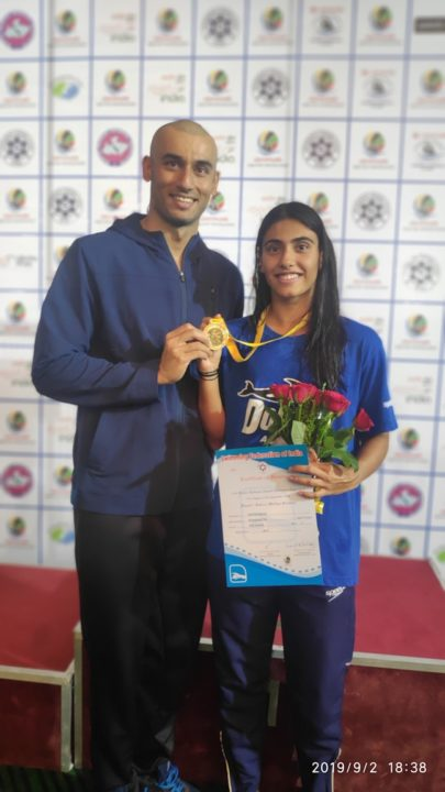 Satija Sets Indian National Record in 50 Fly at Glenmark Senior Championships