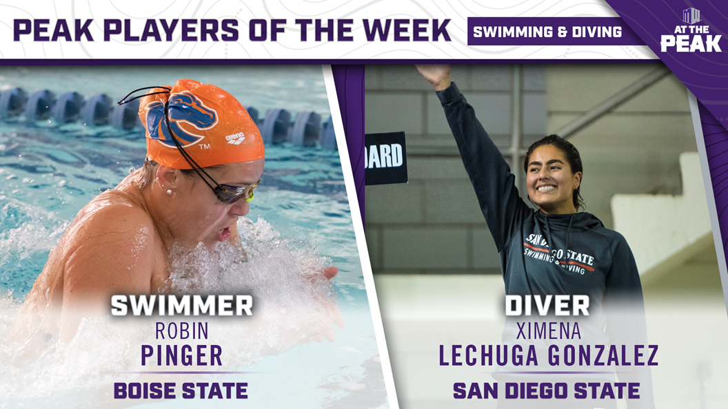 Pinger, Lechuga Gonzalez Honored by Mountain West