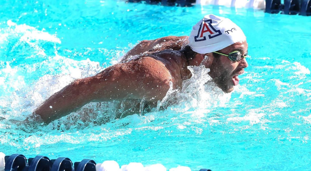 Arizona Sweeps Denver, Hawaii at Weekend Tri-Meet