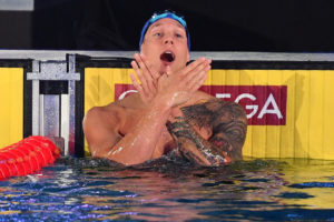 Dressel Analyzes Three Races in One in 2019 ISL American Derby 50 Skins Final