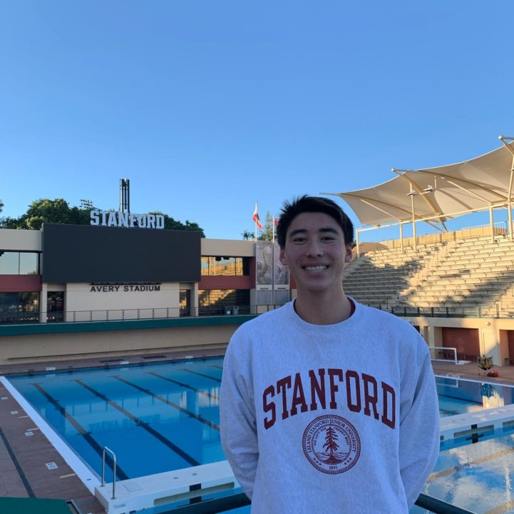 Local Swimmer Jonathan Affeld Verbally Commits to Stanford
