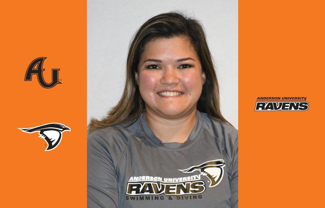 Anderson University Tabs Andra Pavich as Assistant Diving Coach